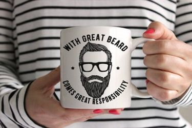 The Bearded Dad mug