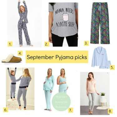 8 must have maternity loungewear and pyjamas
