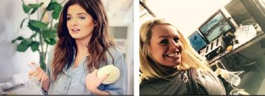 Swing Breast Pump being used by Binky Felstead and Chemmy Allcott