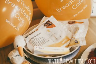 The Medela Big Breastfeeding Café picture