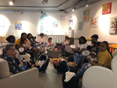 Medela Breastfeeding Cafe 2019 London with Sioned