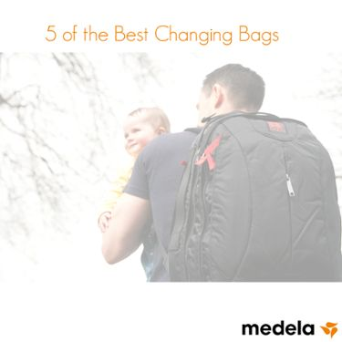 father-and-baby-with-baby-changing-bag