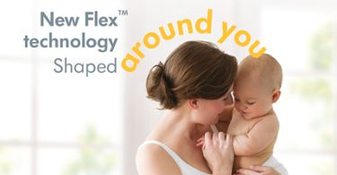New Flex Technology Shaped around you - with mother and baby
