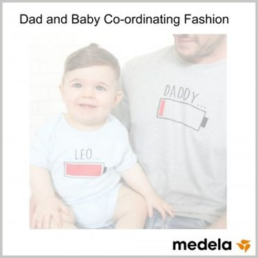 Dad and Baby Co-ordinating Fashion