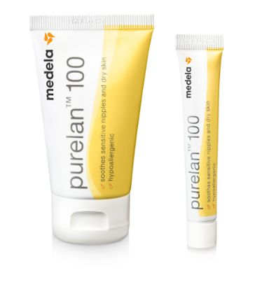 Purelan 37g and 7g nipple cream