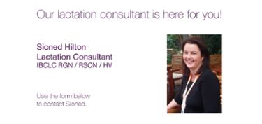 Contact Sioned - Medela's lactation consultant