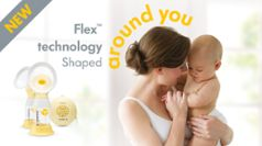 New Flex™ technology. Shaped around you.